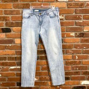 Kut From The Kloth Light Wash Boyfriend Jeans 10P